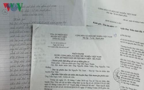 Vụ nhận tài sản thừa kế thành con nợ: Tòa phúc thẩm phán quyết