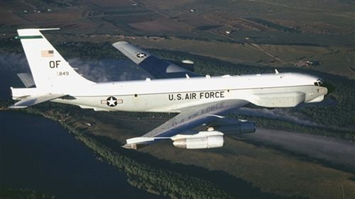 Máy bay RC-135V soi rõ thế trận tên lửa Nga tại Crimea
