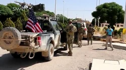 Hơn 100 xe quân sự Mỹ ồ ạt tiến vào miền Đông Syria