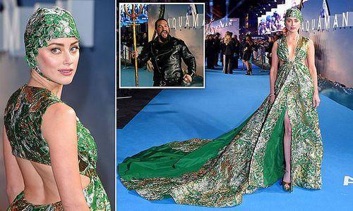 Vợ cũ Johnny Depp lộng lẫy trong buổi ra mắt bom tấn 'Aquaman'