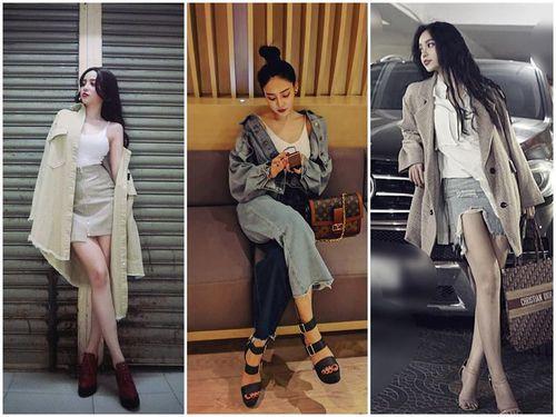 Ngọc Ny The Voice gợi cảm dạo phố với trang phục street style 'chất phát ngất'