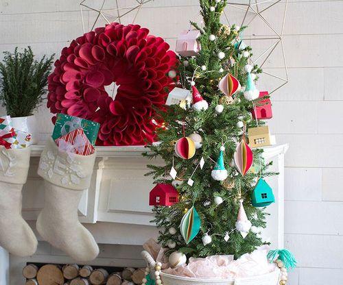 Gợi ý những cách trang trí nhà cửa đón Giáng sinh