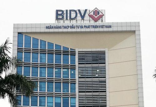 Thay người phụ trách BIDV Chi nhánh Hà Tĩnh