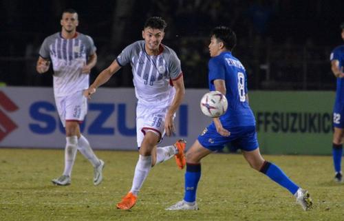 Philippines tập chiêu gì chờ đấu đội tuyển Việt Nam?