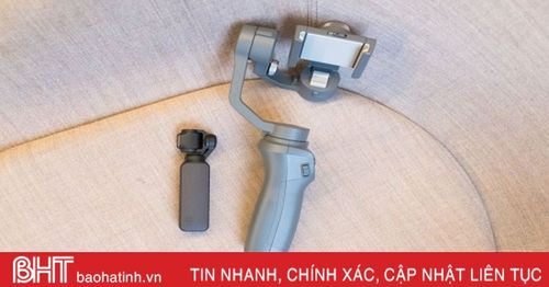 Máy quay 4K chống rung ba trục có thể bỏ túi