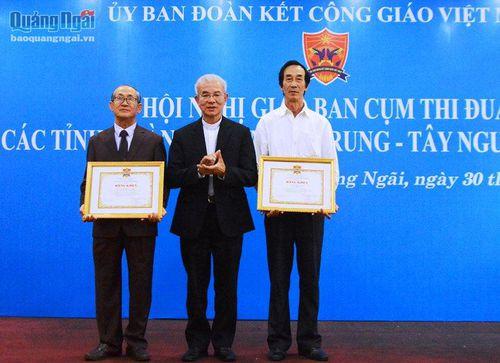 Giao ban cụm thi đua Ủy ban đoàn kết Công giáo khu vực miền Trung - Tây Nguyên