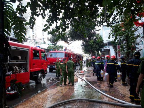 Xảy ra vụ hỏa hoạn thứ tư ở TP Nha Trang trong vòng 4 ngày