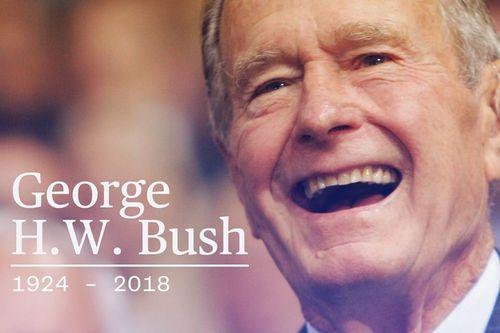 Cựu Tổng thống Mỹ George HW Bush qua đời ở tuổi 94