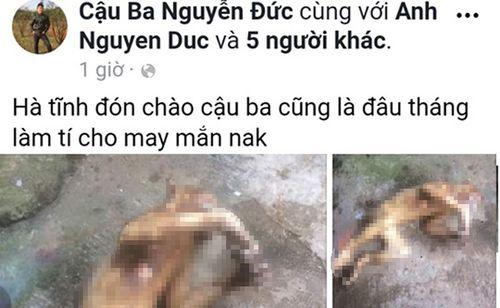 Truy tìm người giết khỉ đăng lên facebook