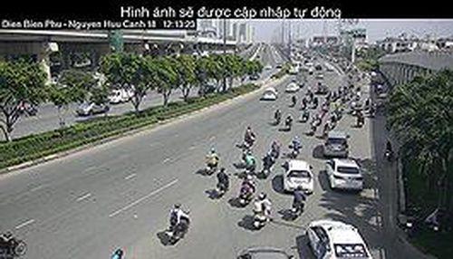 Cách chọn lộ trình tránh kẹt xe, ngập nước ở Sài Gòn qua ứng dụng Zalo