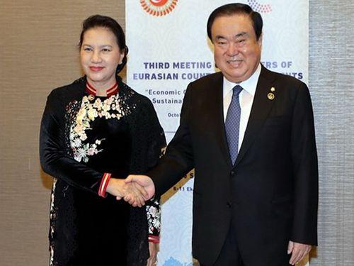 VN coi trọng quan hệ đối tác hợp tác chiến lược với Hàn Quốc
