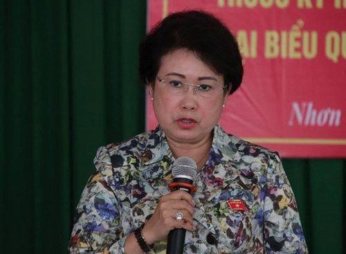 Bà Phan Thị Mỹ Thanh nhận công việc mới tại ủy ban Mặt trận Tổ quốc tỉnh Đồng Nai