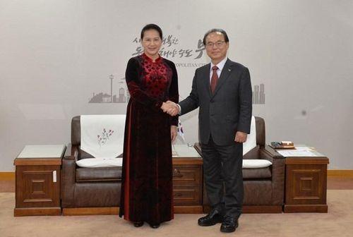 Làm sâu sắc hơn nữa quan hệ đối tác hợp tác chiến lược Việt Nam – Hàn Quốc