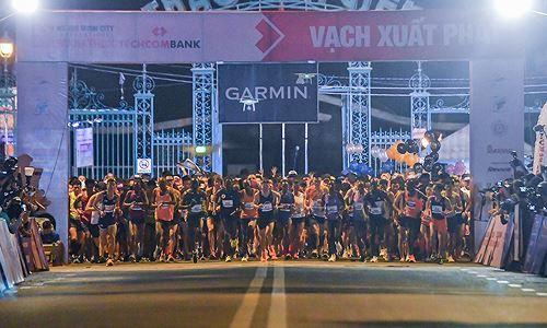 Hơn 8.500 vận động viên tranh giải Marathon Quốc tế TP.HCM Techcombank