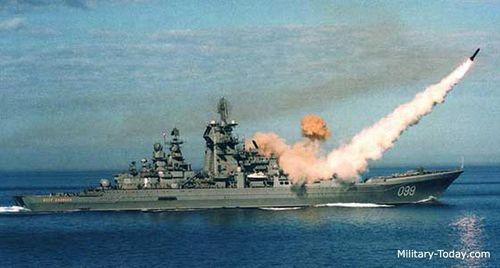 Sức mạnh tuần dương hạm lớn nhất thế giới của Hải quân Nga