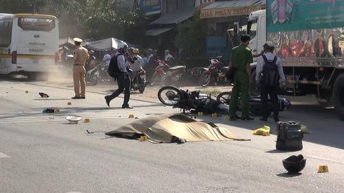 Hai cụ già chết thương tâm sau tai nạn giao thông ở An Giang