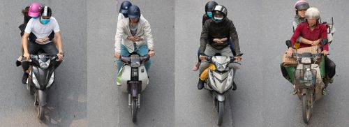 Góc nhìn thú vị về giao thông Hà Nội qua loạt ảnh 'Những bộ tứ siêu đẳng'