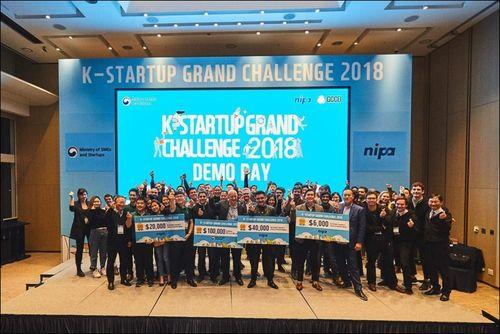 Startup Việt giành giải 3 cuộc thi dành cho các công ty khởi nghiệp toàn thế giới tại Hàn Quốc