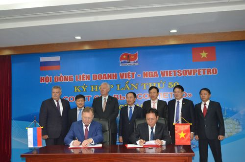 Hội đồng Liên doanh Việt - Nga Vietsovpetro: Kỳ họp lần thứ 50 kết thúc thành công