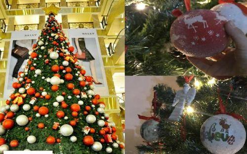 Giật mình cây thông Noel xa xỉ giá từ 25 đến trên 100 triệu đồng, 'thượng đế' vẫn lùng sục mua