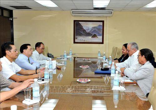 Việt Nam, Cuba tăng cường hợp tác trên lĩnh vực tuyên giáo