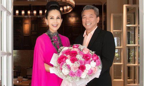 'Nữ hoàng ảnh lịch' Diễm My khoe ông xã đại gia trong tiệc sinh nhật