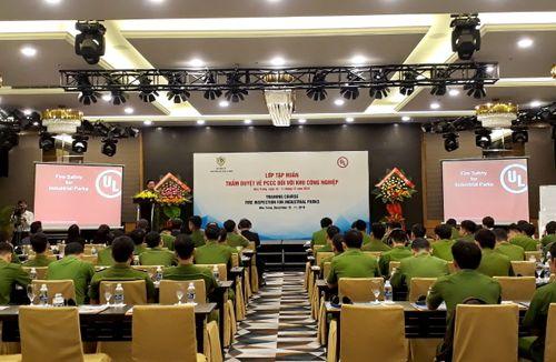 Tập huấn thẩm duyệt PCCC khu công nghiệp khu vực miền Trung – Tây Nguyên