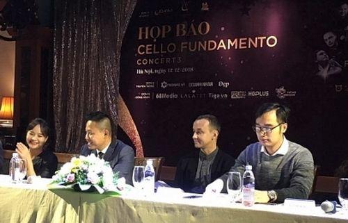 Hòa nhạc Cello Fundamento Concert mùa thứ 3 sắp trở lại Hà Nội