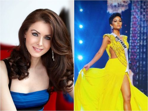Hoa hậu, Á hậu Hoàn vũ khen H'Hen Niê trình diễn dạ hội đẹp nhất