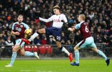 Tottenham thắng chật vật Burnley 1-0