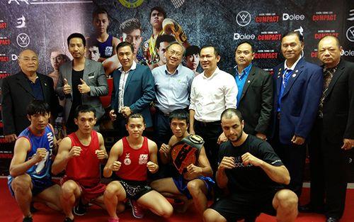 Giải Muay Thái Quốc tế: Việt Nam sẽ bảo vệ hai đai vô địch USC