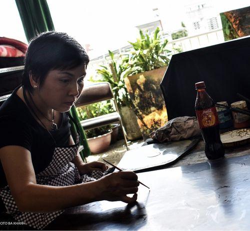 Họa sĩ Hiền Nguyễn: Một đam mê vị nghệ thuật