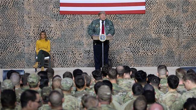 Ông Trump bị chỉ trích khi bí mật thăm Iraq