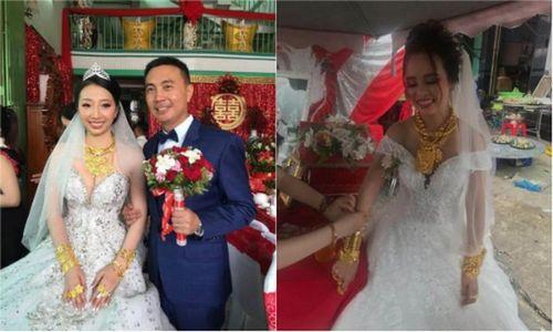 Những cô dâu vàng đeo trĩu cổ nổi đình đám nhất năm 2018
