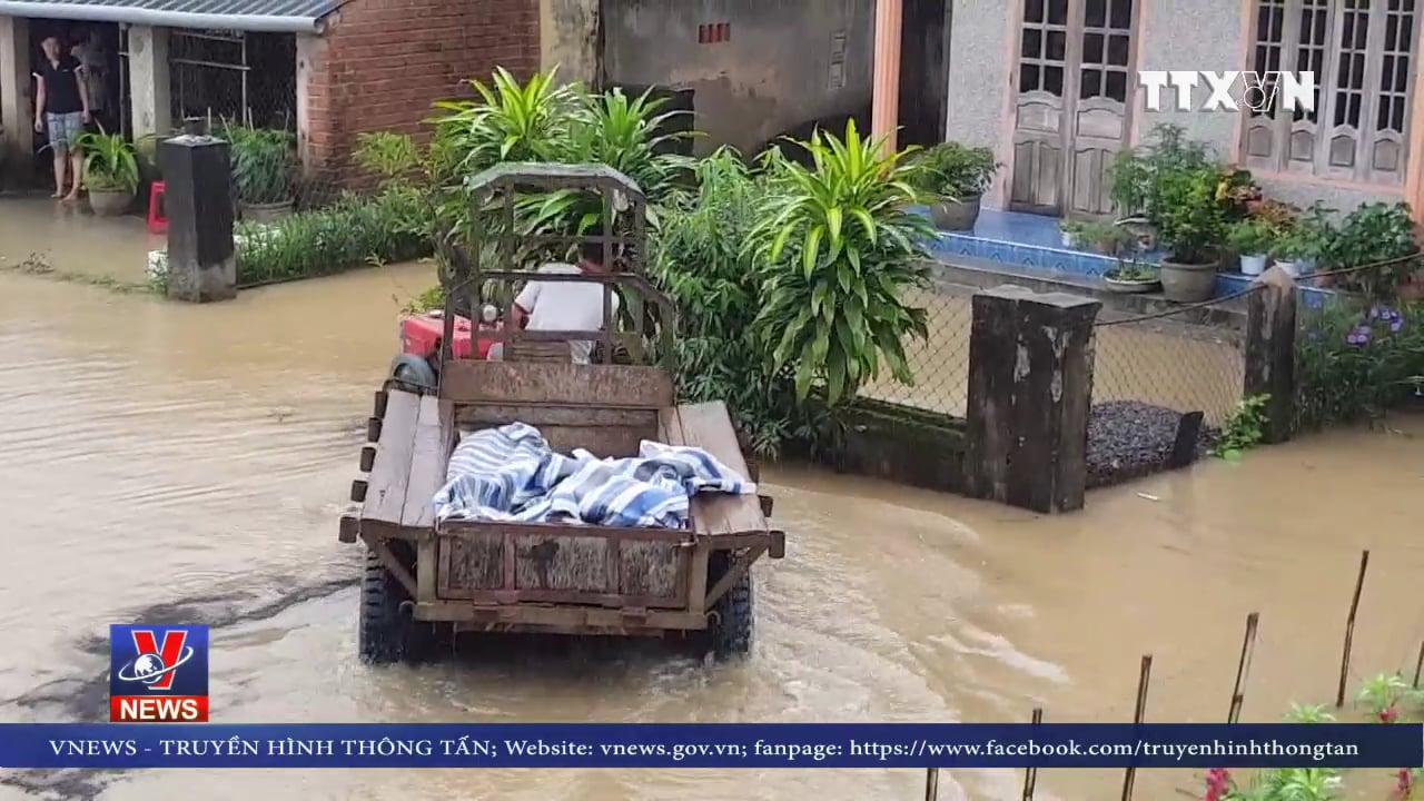 Mưa lớn, các hồ thủy lợi Phú Yên phải xả lũ