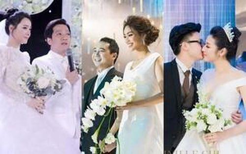 Những đám cưới đình đám của sao Việt năm 2018