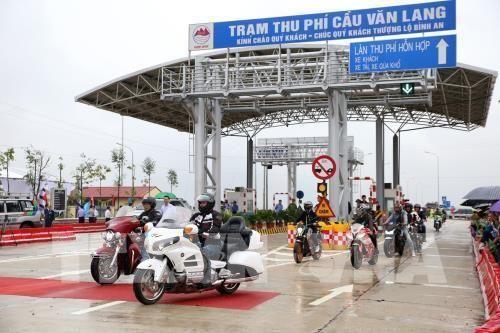 Phí dịch vụ sử dụng đường bộ cầu Văn Lang - Ba Vì thấp nhất là 35.000 đồng