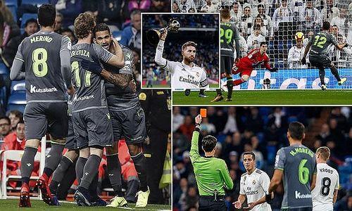 Chơi dưới sức, Real Madrid thua sốc trên sân nhà