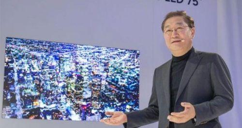 CES 2019: Samsung ra mắt thế hệ màn hình mới