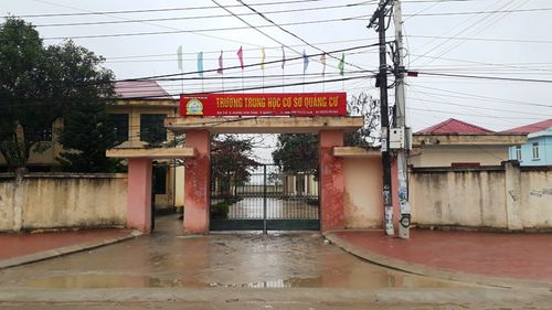 Vụ 'Trò tố bị hiệu trưởng bóp cổ' ở Thanh Hóa: Phụ huynh đã rút đơn