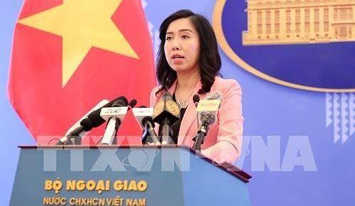 Người phát ngôn Bộ Ngoại giao lên tiếng về việc tàu Mỹ đi qua Hoàng Sa của Việt Nam