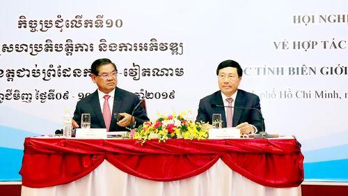 Xây dựng biên giới Việt Nam - Campuchia hòa bình, hữu nghị, hợp tác và phát triển