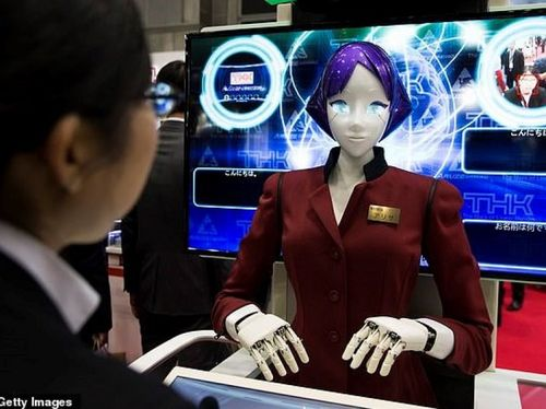 Nhật Bản: Nữ robot 6 chân đón khách đến với Thế vận hội 2020