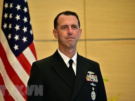 Tư lệnh Hải quân Mỹ thăm Trung Quốc nhằm giảm nguy cơ đối đầu