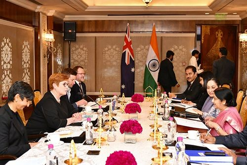 Ấn Độ và Australia tăng cường kết nối