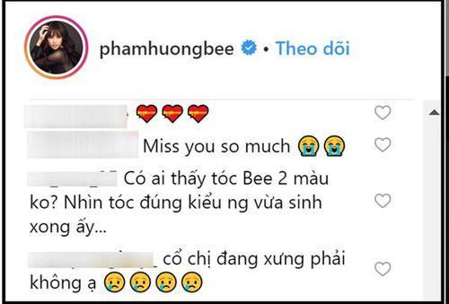 Phát hiện chi tiết trên bức ảnh khiến dân mạng tin rằng Phạm Hương vừa sinh con