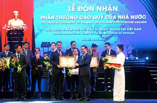 2018, P&G gặt hái nhiều giải thưởng