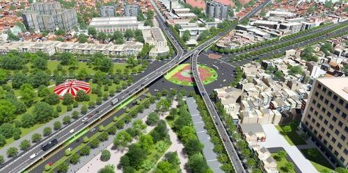 Ngày mai, thông xe cầu vượt nhánh cầu vượt trên đường Nguyễn Kiệm - Nguyễn Thái Sơn