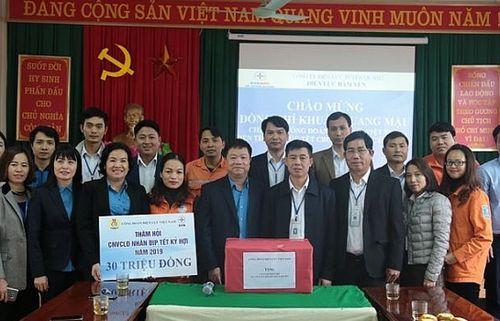 Công đoàn Điện lực Việt Nam thăm hỏi và chúc Tết người lao động