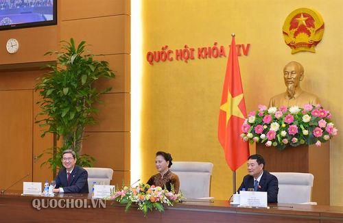 Chủ tịch Quốc hội Nguyễn Thị Kim Ngân tiếp Nhóm Nghị sĩ hữu nghị Hàn Quốc – Việt Nam